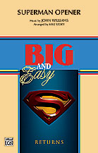 Superman Opener (Conductor Score) (Marching Band),