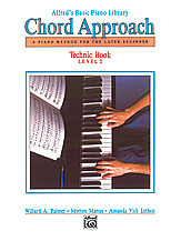 Alfred's Basic Piano: Chord Approach Technic Book 2