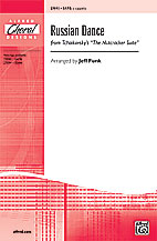 Russian Dance (from <I>The Nutcracker Suite</I>) : SATB : Jeff Funk : Nutcracker : Sheet Music : 00-27093 : 038081263007