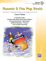 Famous & Fun Pop Duets, Book 1