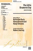 The Little Drummer Boy : SATB : Robert Sterling : Sheet Music : 00-27875 : 038081304342