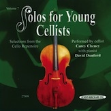 Solos for Young Cellists CD, Volume 7