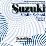Suzuki Violin School CD, Volume 2 (Revised)