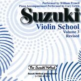 Suzuki Violin School CD, Volume 3 (Revised)