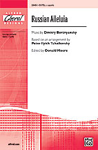 Russian Alleluia : SATB : Donald Moore : Donald Moore : Sheet Music : 00-28454 : 038081297453