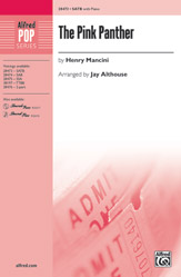 The Pink Panther : SATB : Jay Althouse : Henry Mancini : Pink Panther : Voicetrax CD : 00-28473 : 038081310176