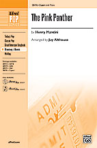 The Pink Panther : 2-Part : Jay Althouse : Henry Mancini : Pink Panther : Sheet Music : 00-28476 : 038081310206