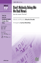 Larry Shackley : Don't Nobody Bring Me No Bad News : Showtrax CD : 038081311630  : 00-28619