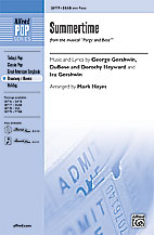 Summertime : SSAB : Mark Hayes : George Gershwin : Porgy and Bess : Sheet Music : 00-28777 : 038081313221