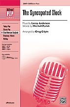Greg Gilpin : The Syncopated Clock : Showtrax CD : 038081313542  : 00-28810