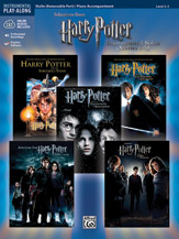 <i>Harry Potter</i> Instrumental Solos for Strings (Movies 1-5)