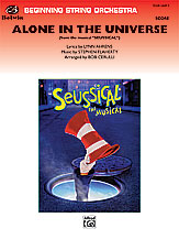 Alone in the Universe (from Seussical the Musical): Score