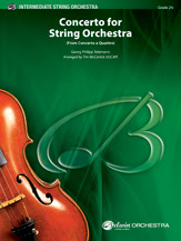 Concerto for String Orchestra (from Concerto a Quattro): 3rd Violin (Viola [TC])