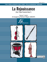 La Rejouissance (from Royal Fireworks Music): 1st B-flat Clarinet