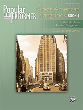 Popular Performer: Great American Songbook, Book 1