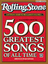 <i>Rolling Stone</i> Easy Piano Sheet Music Classics, Volume 1