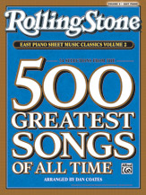 <i>Rolling Stone</i> Easy Piano Sheet Music Classics, Volume 2