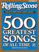 <i>Rolling Stone</i> Easy Piano Sheet Music Classics, Volume 2