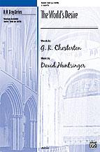 The World's Desire (A Christmas Carol) : SAB : David Huntsinger : Sheet Music : 00-30493 : 038081328492