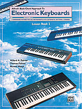 Alfred's Basic Chord Approach to Electronic Keyboards: Lesson Book 2