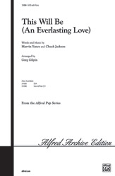 This Will Be (An Everlasting Love)