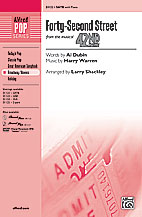 42nd Street : SATB : Larry Shackley  : Sheet Music : 00-31122 : 038081338941