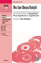 Alan Billingsley : The Lion Sleeps Tonight : Showtrax CD : 038081340197  : 00-31249