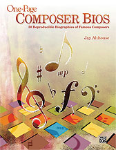 One-Page Composer Bios
