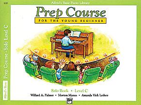 Alfred's Basic Piano Prep Course: Solo Book C