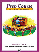 Alfred's Basic Piano Prep Course: Solo Book D