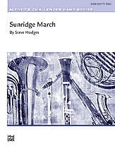 Sunridge March: 2nd E-flat Alto Saxophone
