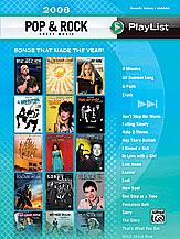 Playlist 2008 - Pop & Rock