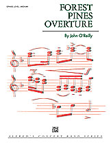 FOREST PINES OVERTURE/CB SET4D: 2nd B-flat Clarinet