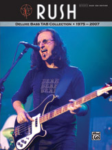 Rush: Deluxe Bass TAB Collection 1975 - 2007