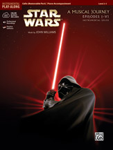 <I>Star Wars</I> Instrumental Solos for Strings (Movies I-VI)