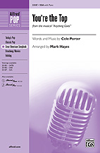 Mark Hayes : You're the Top : Showtrax CD : 038081360966  : 00-33188