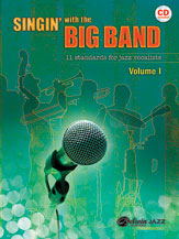 Various : Singin' with the Big Band : Solo : 01 Songbook & 1 CD : 038081378107  : 00-33393