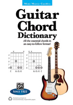 Mini Music Guides: Guitar Chord Dictionary
