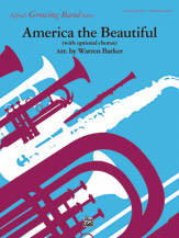 America, the Beautiful (with optional SA/SAB chorus): Baritone B.C.