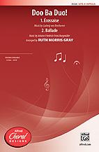 Doo Ba Duo! : SATB : Ruth Morris Gray : Sheet Music : 00-35526 : 038081397221