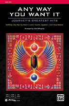 Alan Billingsley : Any Way You Want It: Journey's Greatest Hits : Showtrax CD : 038081397573  : 00-35561