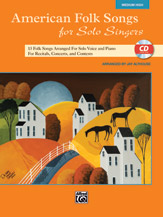 American Folk Songs for Solo Singers