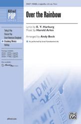 Over the Rainbow : SSAB : Andy Beck : Harold Arlen : Sheet Music : 00-35627 : 038081398235