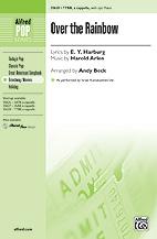 Over the Rainbow : TTBB : Andy Beck : Harold Arlen : Sheet Music : 00-35628 : 038081398242