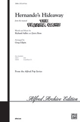 Hernando's Hideaway : SATB : Greg Gilpin : Richard Adler and Jerry Ross : The Pajama Game : Songbook : 00-35816 : 038081400129