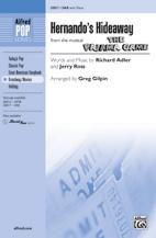 Hernando's Hideaway : SAB : Greg Gilpin : Richard Adler and Jerry Ross : The Pajama Game : Sheet Music : 00-35817 : 038081400136