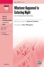 Alan Billingsley : Whatever Happened to Saturday Night? : Showtrax CD : 038081400457  : 00-35849