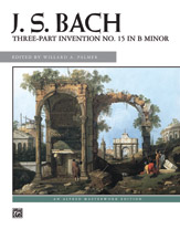 3-Part Invention No. 15 in B Minor