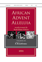 African Advent Alleluia : SATB : 0 : Sheet Music : 00-36296 : 080689876271