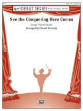 See the Conquering Hero Comes: 1st Percussion